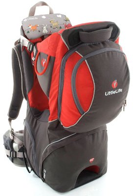 Tried: LittleLife Voyager II back carrier