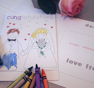 Five fab… ways to entertain children at a wedding