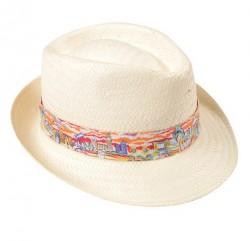 Panama Hat with Libert Tana Lawn Band