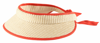 Straw Visor from H and M