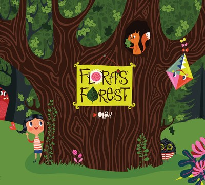 Flora's Forest iPad Book