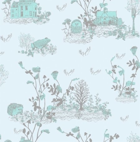 Woodland Wallpaper by Sian Zeng