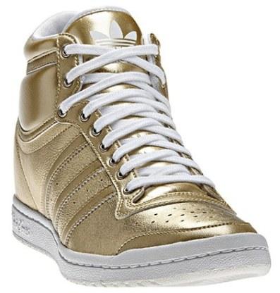 Adidas Top Ten Hi Sleek Heel Shoes