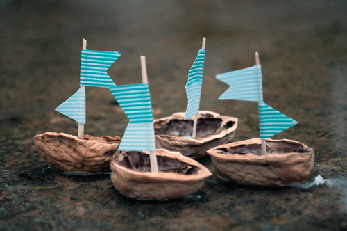 Make Your Own Walnut Shell Boats