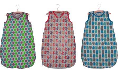 Cloud Cuckoo Designs sleeping bags