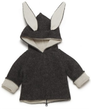 Reversible Rabbit Hoody