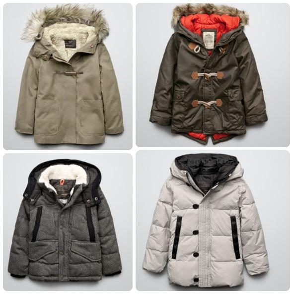 Zara Kids Coats