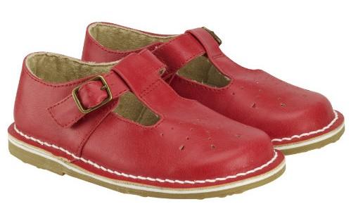 Little Bird red shoes