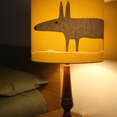 Love Frankie Mr Fox lampshade