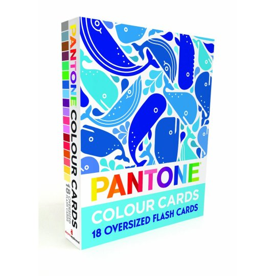 Pantone Flash Cards