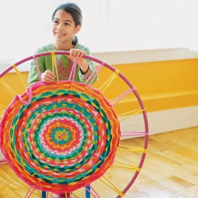 Make Your Own : Hula Hoop Rug