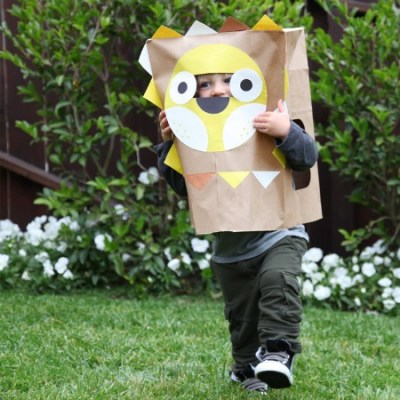 Make Your Own: Dress up outfits from paper bags