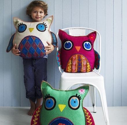Hedwig Owl Cushions