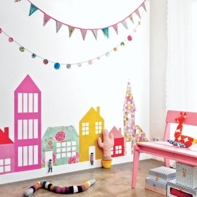 Make Your Own: Wallpaper Houses