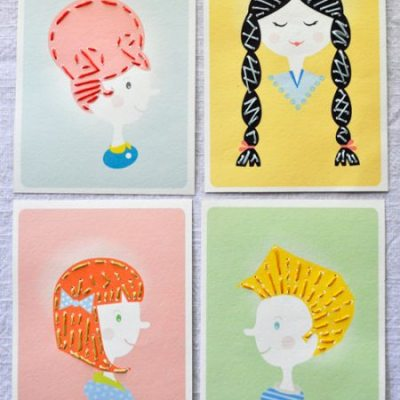 Great printable: Sewing cards by Handmade Charlotte
