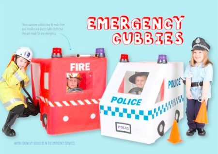 Lotta magazine - when I grow up, I could be in the emergency services