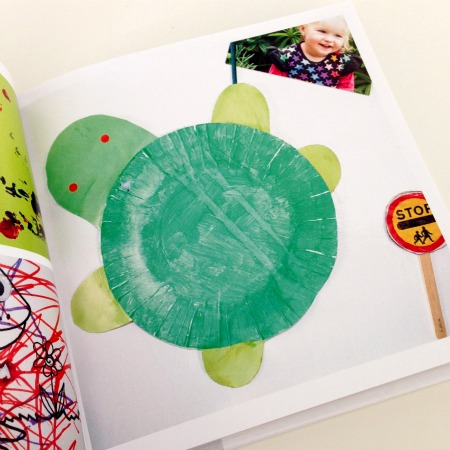 Create a Photobook our of your Childrens artwork