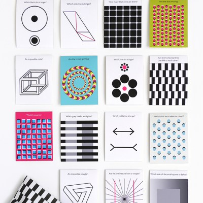 Back to school: Mr Printables Optical Illusions lunch box notes