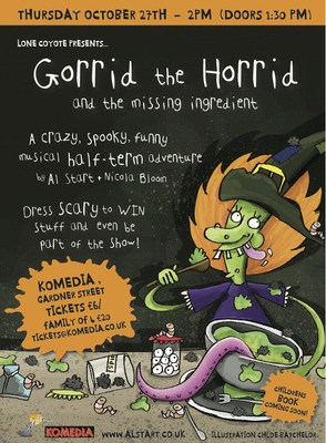 Book now: Gorrid the Horrid and the Missing Ingredient