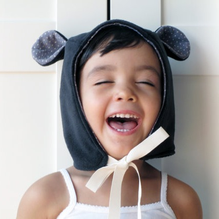 Kids hood with ears featured on Bambino Goodies