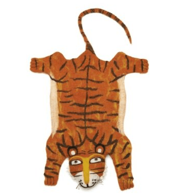 VA Tiger Rug featured on Bambino Goodies