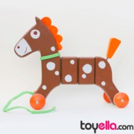 Janod pullalong crazy pony