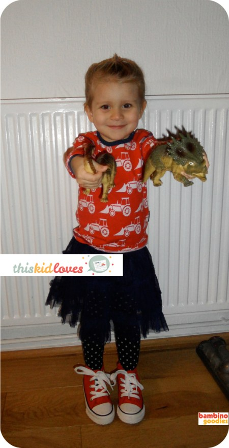addison and her dinosaurs for This Kid Loves... Bambino Goodies