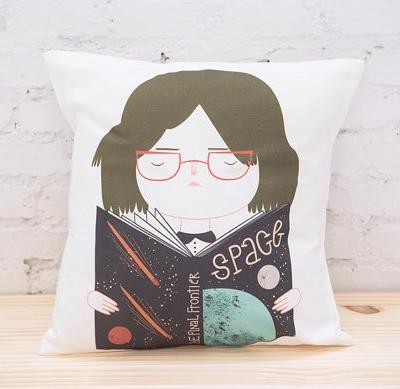 Pai & Pear Space Girl cushion