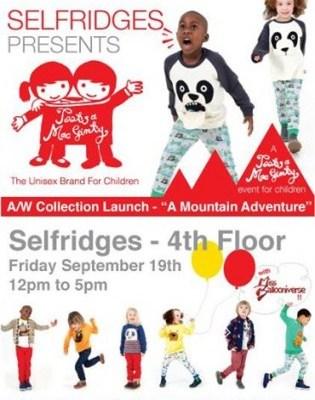 Tootsa MacGinty/Selfridges event