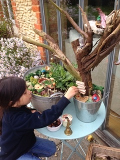 how to make a fairy garden by Tze Ching Yeung of Jake & Maya