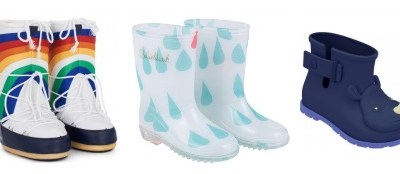 Winter warmers: cool wellies and snow boots for kids