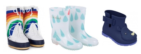 Kids welly boots and snow boots