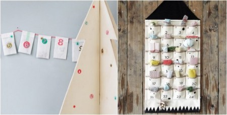 Modern Advent Calendars for Kids