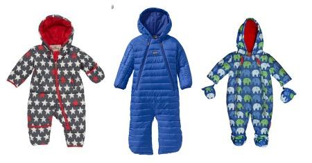 Modern snowsuits