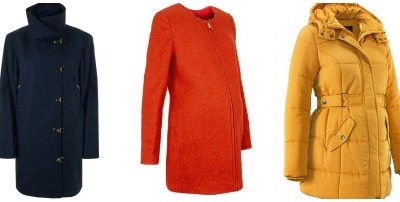 Winter warmers: maternity coats and jackets