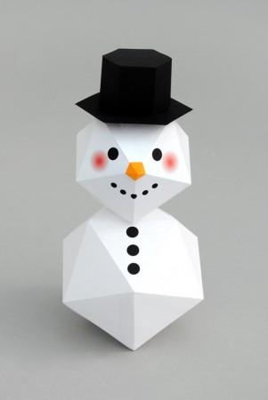 Mini Eco snowman