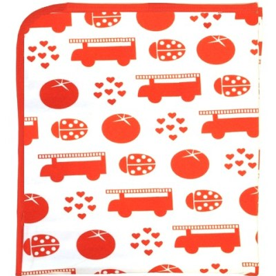 Plastisock's iconic Red Things print at Little Sunflowers