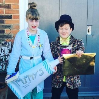 The Demon Dentist & Willy Wonka