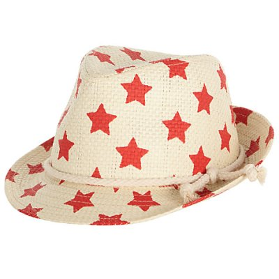 Hot on the high street: John Lewis star trilby