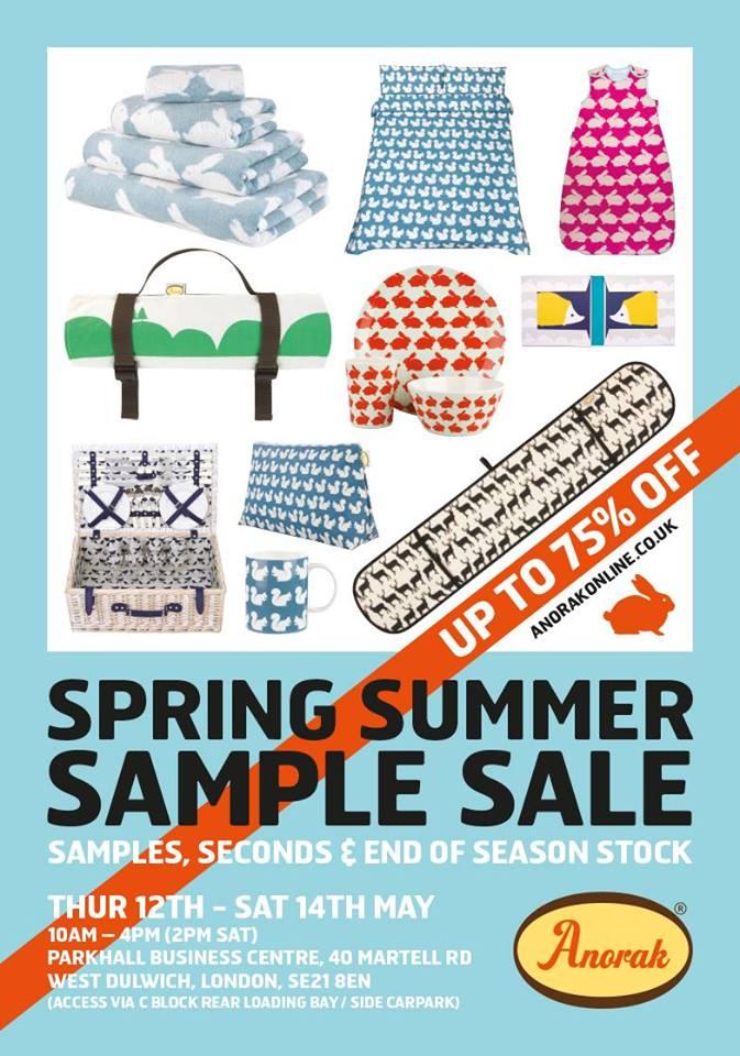 Anorak Sample Sale