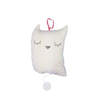Scalae Owl Music Box