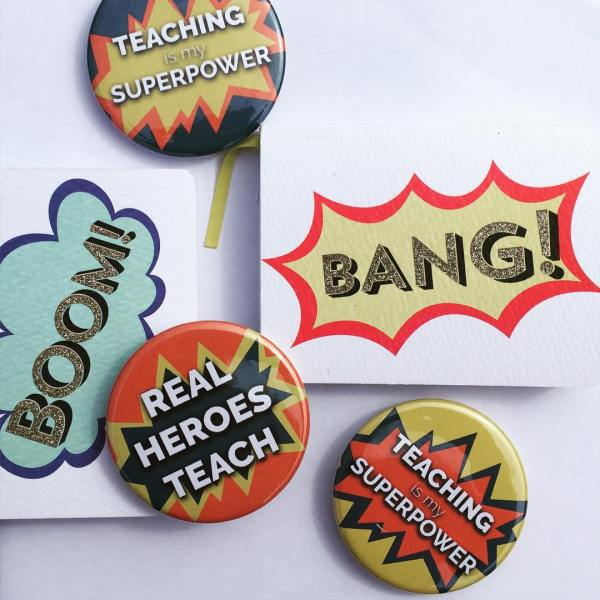 Teaching Is My Superpower