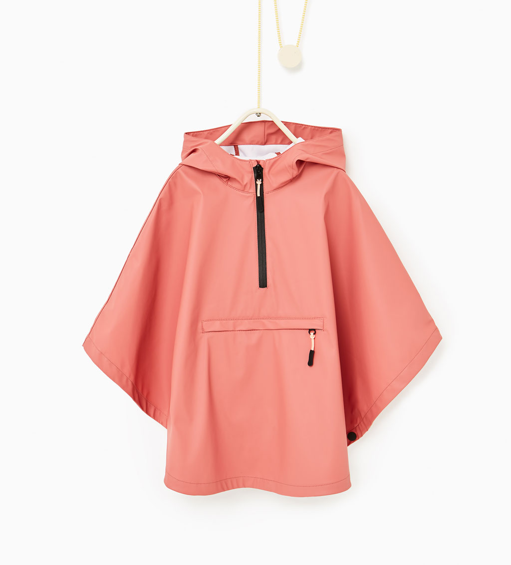Zara Cape - Rubber