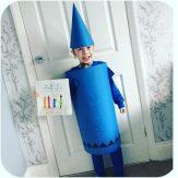 The Blue Crayon