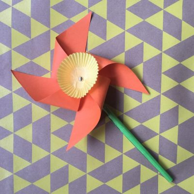Make Your Own: Daffodil Windmills for St. David's Day