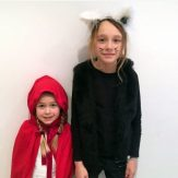 Little Red Riding Hood & Cat