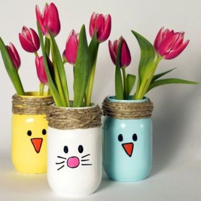 Easy Easter craft which makes a wonderful gift
