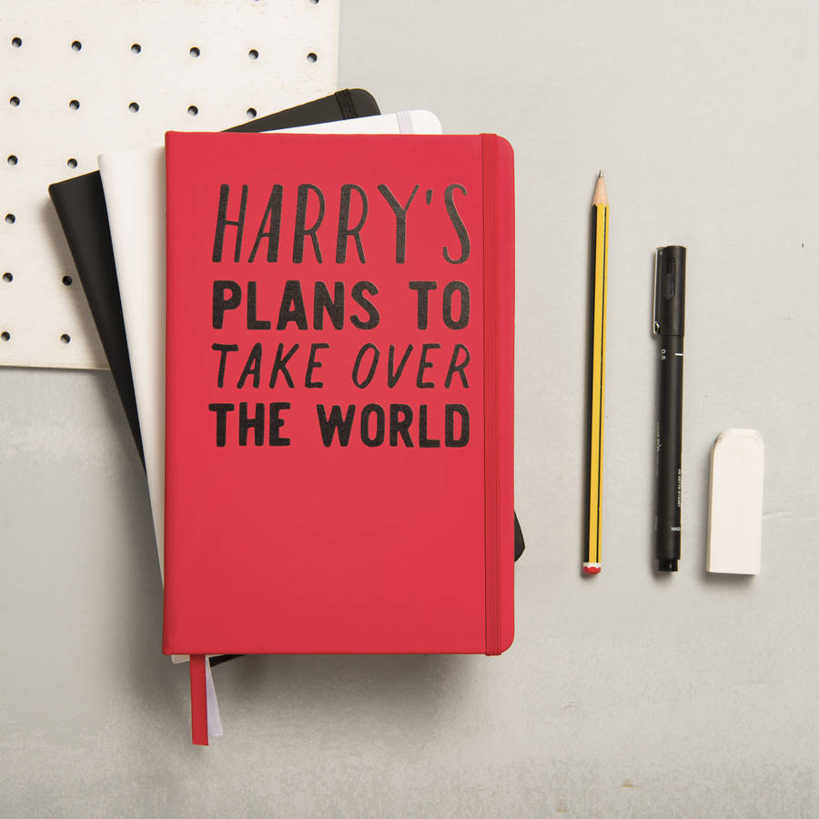 Personalised Plans To Take Over The World