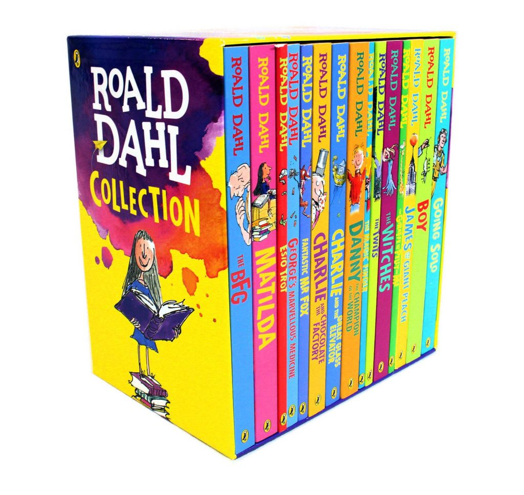 ROALD DAHL Collection Phizz Whizzing 15 Classic Books Box Set NEW STORY BOOK