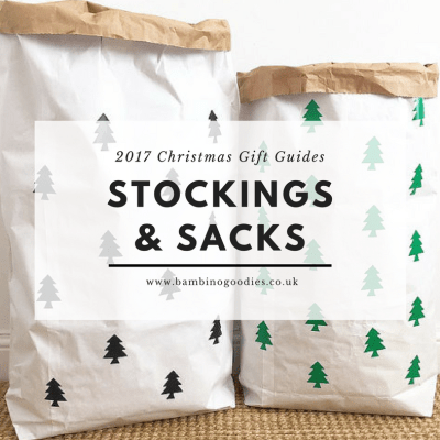Christmas Gift Guide 2017: Stockings & Sacks
